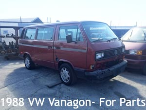 1988 VW Vanagon for parts