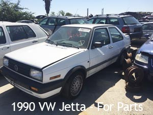 1990 VW Jetta for Parts