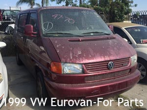 1999 VW Vanagon for parts