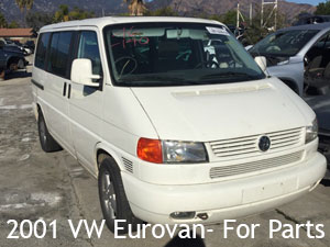 2001 VW Eurovan for parts