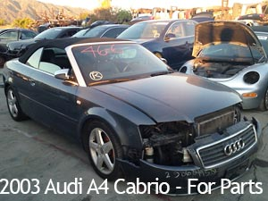 New Arrivals | VW Auto Salvage Yard | Duarte, CA