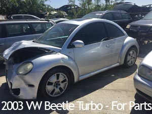 2003 VW Beetle Turbo for parts