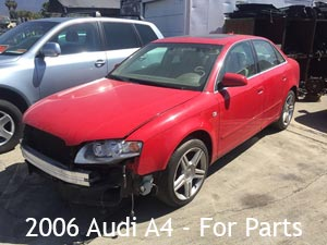 2006 Audi A4 for parts