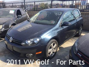 2011 VW Golf for parts