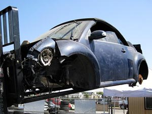 VW Beetle salvage