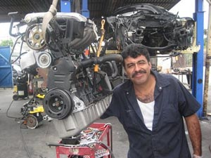 Volkswagen salvage engine