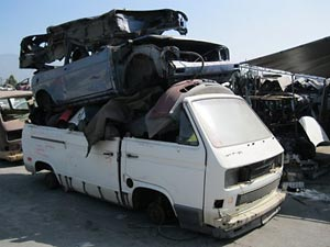 VW auto salvage